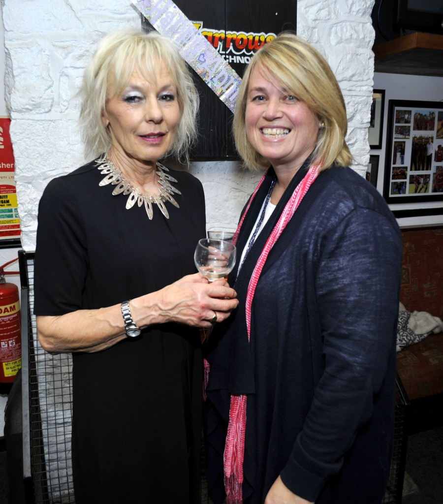 Pictured at the Cork Harlequins 90 years celebration anniversary at Cork Harlequins Club, Farmers Cross were, Judy Black from Douglas and Jess Dale from Riverstick. Pic: Gavin Browne