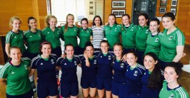 Emma Buckley Captains Irish U18 Squad