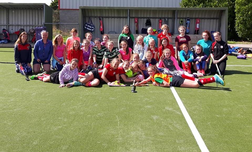 6th Class Girls Hockey Camp